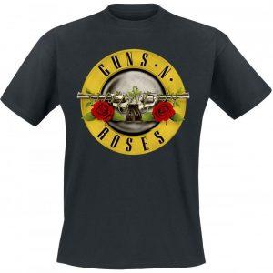 Guns N' Roses Distressed Bullet T-paita