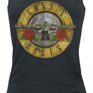 Guns N' Roses Distressed Bullet Toppi