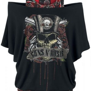 Guns N' Roses Emp Signature Collection Naisten T-Paita