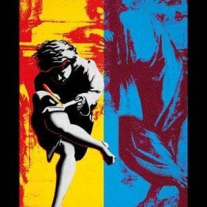 Guns N' Roses Illusion Juliste Monivärinen