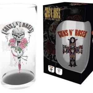 Guns N' Roses Logo Oluttuoppi Lasia