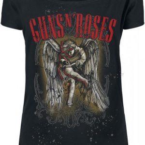 Guns N' Roses Sketched Cherub T-paita