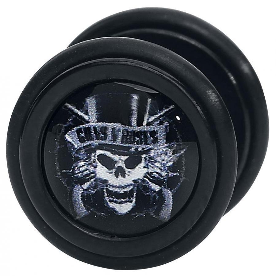 Guns N' Roses Top Hat Skull Feikkinappisetti