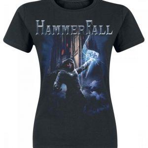 Hammerfall Built To Last Naisten T-paita