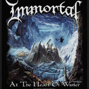 Immortal At The Heart Of Winter Kangasmerkki 100% Polyesteria