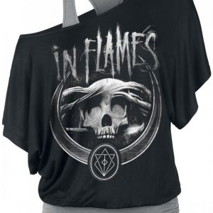 In Flames Battles Badge T-paita