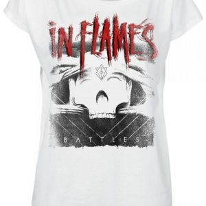 In Flames Battles Cover T-paita