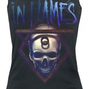 In Flames Battles Skull Naisten Toppi