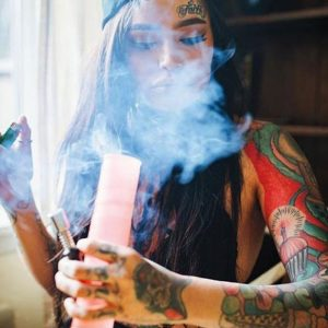 Inked Magazine Smoke Juliste