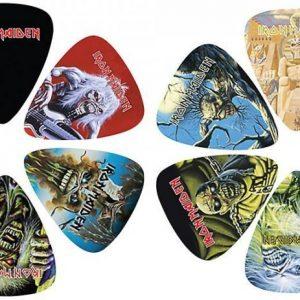Iron Maiden 12 Pick Pack Plektrasetti