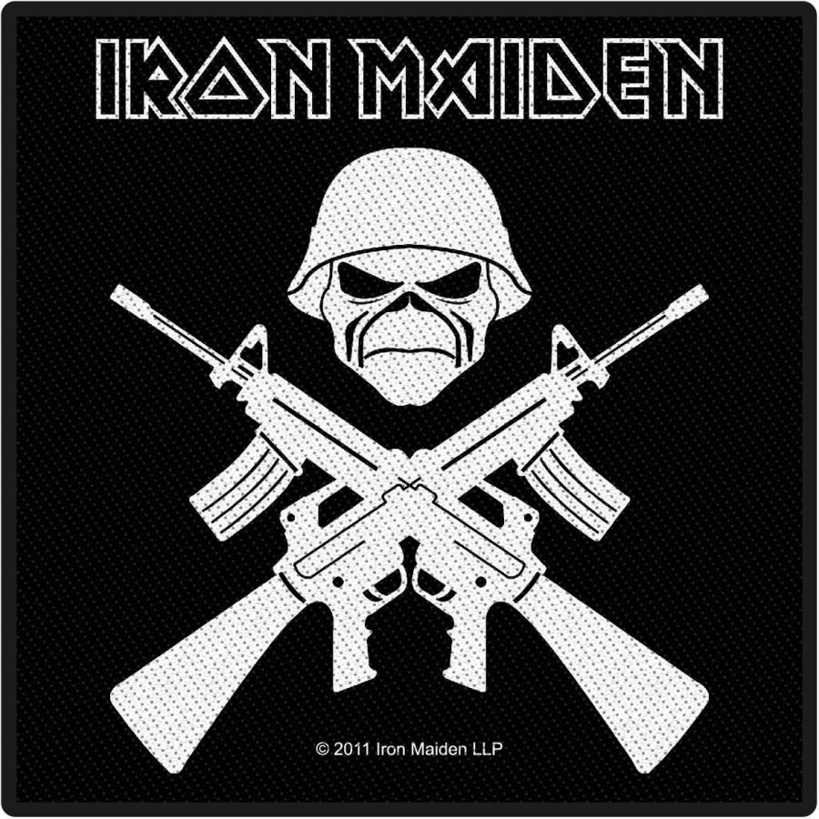 Iron Maiden A Matter Of Life And Death Kangasmerkki