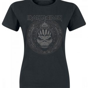 Iron Maiden Book Of Souls Skull T-paita