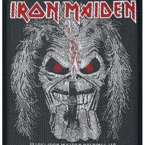 Iron Maiden Candle Finger Kangasmerkki 100% Polyesteria