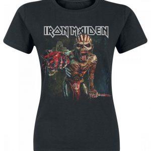 Iron Maiden Ed Heart T-paita