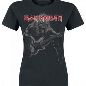 Iron Maiden Eddie Bass Naisten T-paita