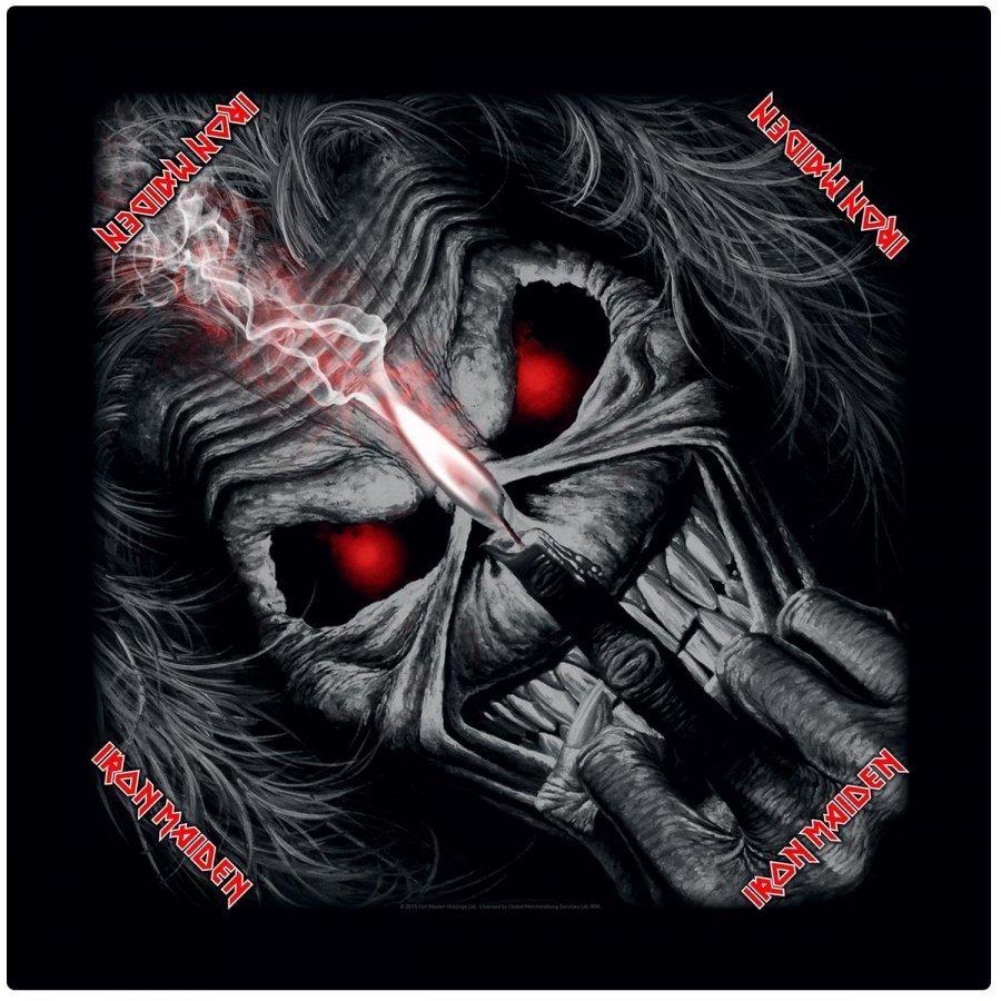 Iron Maiden Eddie Candle Finger Bandana