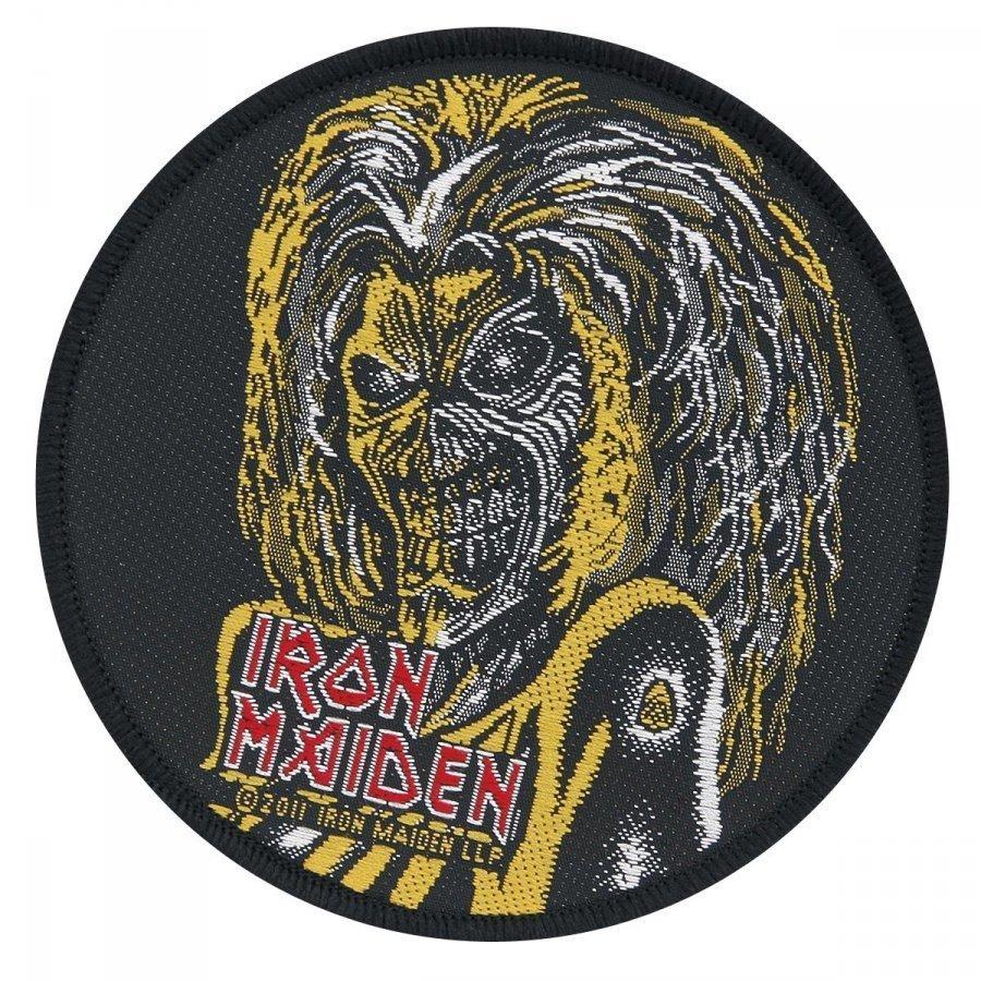 Iron Maiden Eddie Kangasmerkki 100% Polyesteria