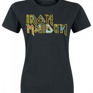 Iron Maiden Eddies Logo T-paita