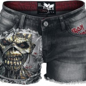 Iron Maiden Emp Signature Collection Naisten Shortsit