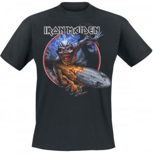 Iron Maiden Empire Of The Clouds T-paita