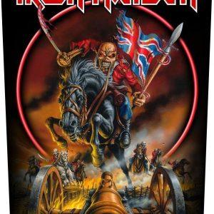 Iron Maiden England '88 Selkälippu 100% Polyesteria