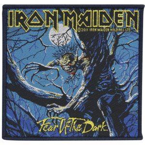 Iron Maiden Fear Of The Dark Kangasmerkki 100% Polyesteria