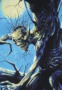 Iron Maiden Fear Of The Dark Seinälippu 100% Polyesteria