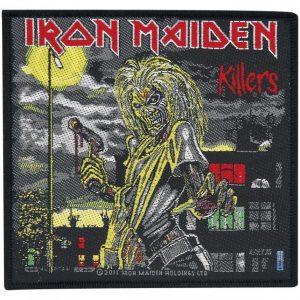 Iron Maiden Killers Kangasmerkki 100% Polyesteria