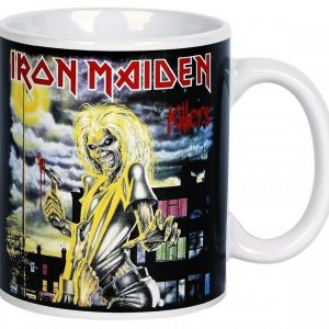Iron Maiden Killers Muki Valkoinen