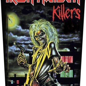 Iron Maiden Killers Selkälippu 100% Polyesteria