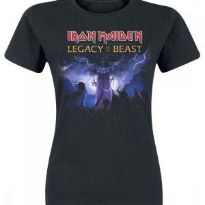 Iron Maiden Legacy Army Naisten T-paita
