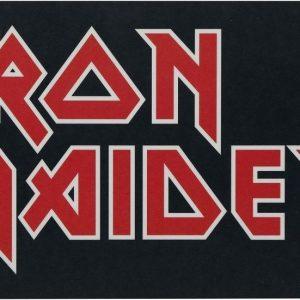 Iron Maiden Logo Aamiaislauta Melamiinia / Litteää Laminaattia