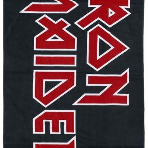 Iron Maiden Logo Kylpypyyhe