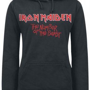 Iron Maiden Number Of The Beast Naisten Huppari