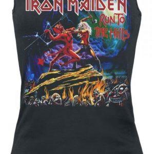 Iron Maiden Run To The Hills Naisten Toppi