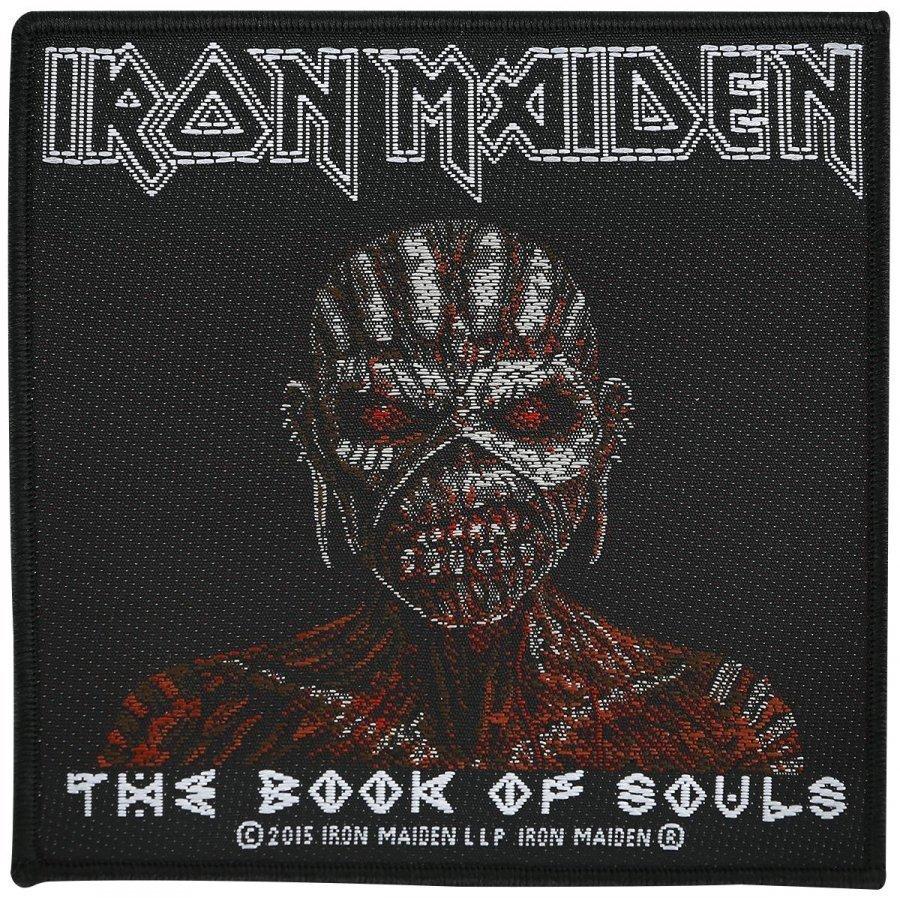 Iron Maiden The Book Of Souls Kangasmerkki 100% Polyesteria