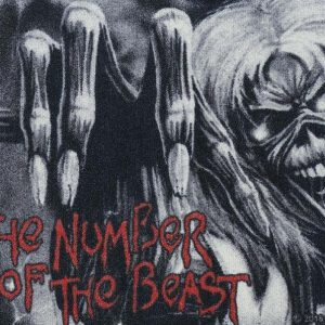 Iron Maiden The Number Of The Beast Ovimatto
