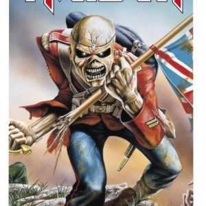 Iron Maiden The Trooper Kylpypyyhe