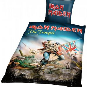 Iron Maiden The Trooper Vuodevaatteet Monivärinen