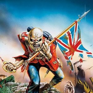 Iron Maiden Trooper Juliste
