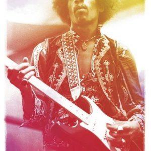 Jimi Hendrix Legendary Juliste Paperia