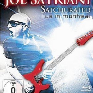 Joe Satriani Satchurated: Live In Montreal Blu-Ray