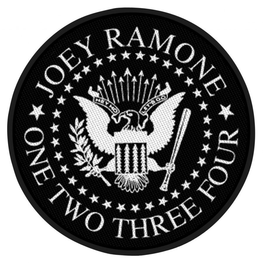 Joey Ramone Seal Kangasmerkki 100% Polyesteria