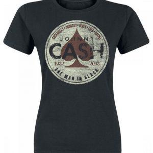 Johnny Cash Spade Genre Naisten T-paita