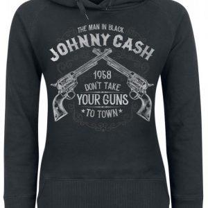 Johnny Cash Take Your Guns Naisten Huppari