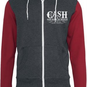 Johnny Cash Whiskey Label Vetoketjuhuppari