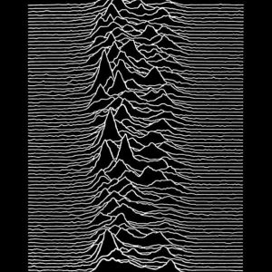 Joy Division Unknown Pleasures Juliste Musta-Valkoinen