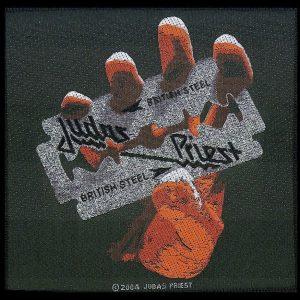 Judas Priest British Steel Kangasmerkki 100% Polyesteria