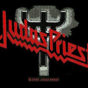 Judas Priest Logo Kangasmerkki 100% Polyesteria