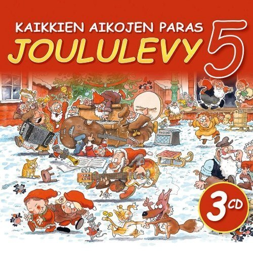 Kaikkien aikojen paras Joululevy 5 (3CD)